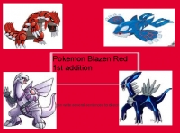 Pokemon Blazen Red