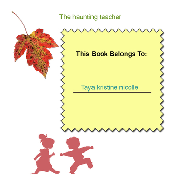 the haunting teacher