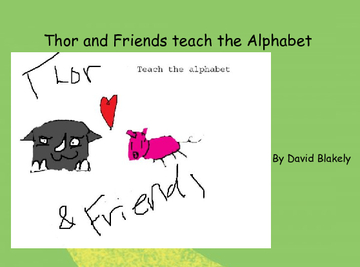 Thor and Friends teach the Alphabet