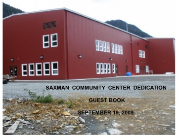 SAXMAN COMMUNITY CENTER DEDICATION