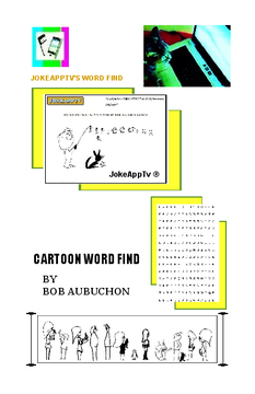 WORD SEARCH CARTOONS