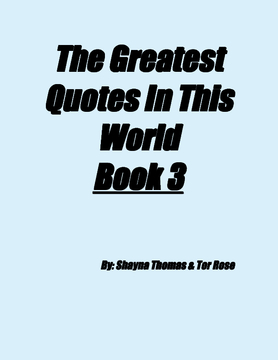 The Greatest Quotes In This World