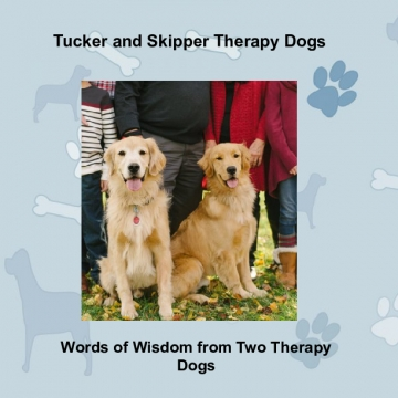Tucker and Skipper Therapy Dogs