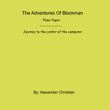 The Adventures of Blockman