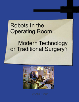 Robots In The Operating Room