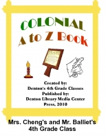 Colonial A to Z Book