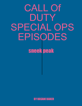 CALL OF DUTY:special ops episodes