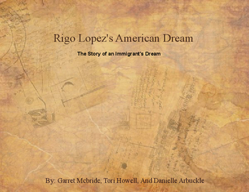 Rigo Lopez's  American Dream