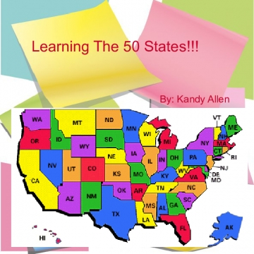 Learning The 50 States!!!!!