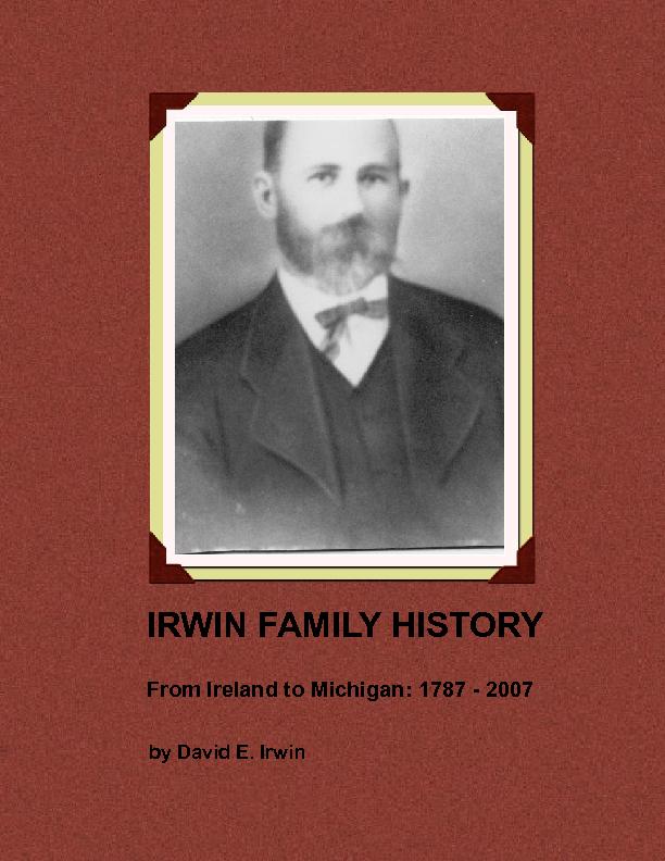 irwin family history