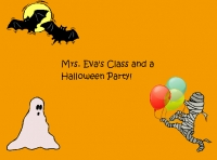 Mrs. Eva's Class and Their Halloween Party