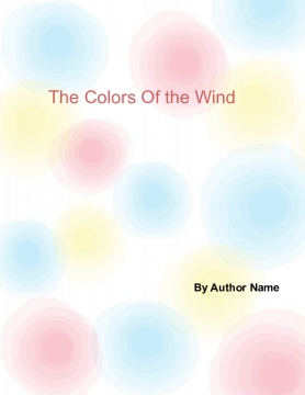 The Colors Of The Wind
