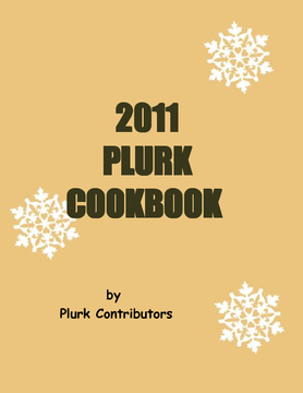 PLURK Recipes