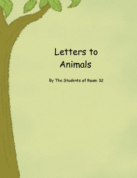 Letters to Animals