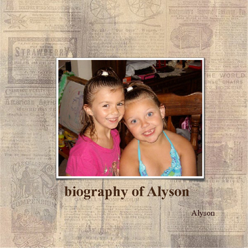 Biography of Alyson