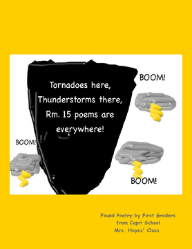 Tornados here, Thunderstorms there, Rm. 15 poems everywhere!