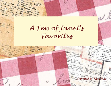 A Few of Janet's Favorites
