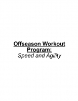 Offseason Workout Program
