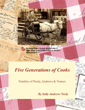 Five Generations of Cooks in our Families