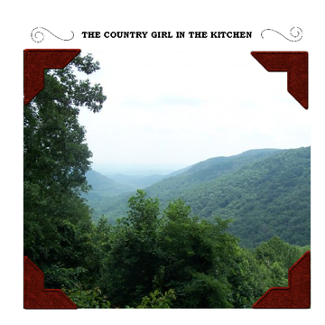 THE COUNTRY GIRL IN THE  KITCHEN