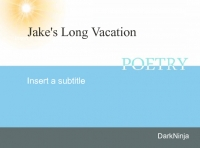 Jack's Long Vacation