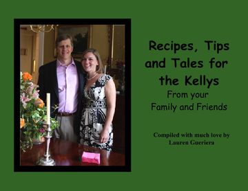 Recipes, Tips and Tales for the Kellys