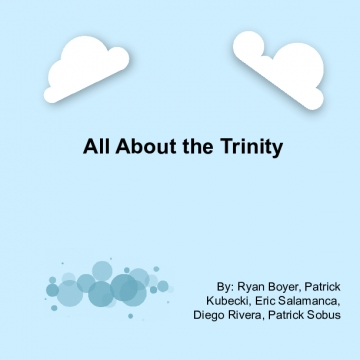 All About the Trinity