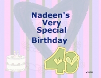 Nadeen's Birthday