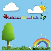Lady Bug and Butterfly