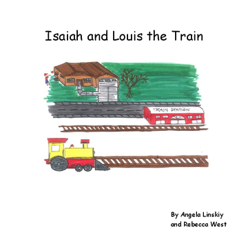 Isaiah and  Louis the Train.