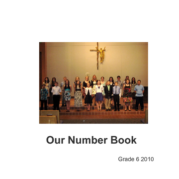 Our Number Book
