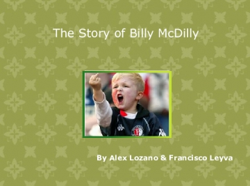 The Story of Billy McDilly
