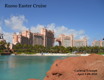 Easter Cruise 2010