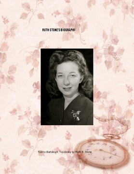 Ruth Stone's Biography