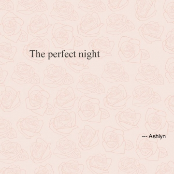 The perfect night (Fnaf poems)