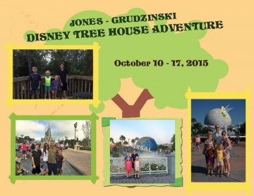 Jones-Grudzinski Disney Trip  2015