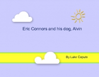 Eric Connors and his dog, Alvin