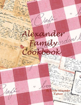 Alexander Family Cookbook