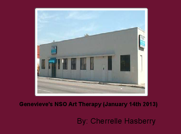 Genevieve's NSO Art Therapy (January 14th 2013)