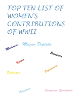 Top Ten List of Women's Contributions