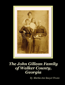 The John Gillean Family of Walker County, Georgia