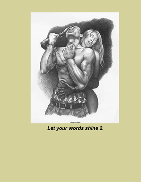 Let your words shine 2