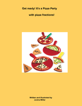 Get Ready! It's a Pizza Party with pizza fractions!