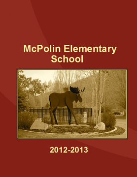 Mc Polin Elementary School  2012- 2013