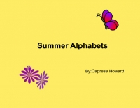 Summer Alphabets
