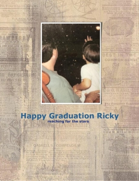 Happy Graduation Ricky