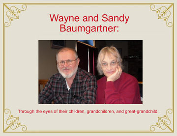 Wayne and Sandy Baumgartner