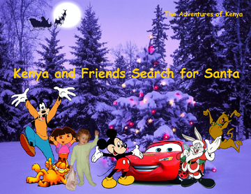 Kenya and Friends Search for Santa