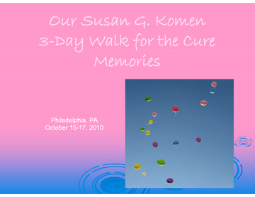 Walk for Karen