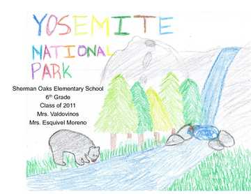 6th Grade Yosemite Poetry Collection